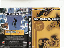 How I Wasted My Summer-2004-White Knuckle Action Sports-BMX Film-Bike-DVD