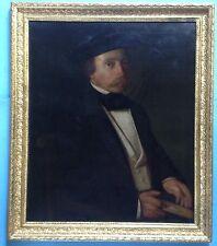 2v2: Barock Ölgemälde Adel Porträt Freiherr Rüpplin von Keffikon Stuttgart ~1800