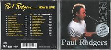 Paul Rodgers  2  CD's  NOW & LIVE  (c)  1997