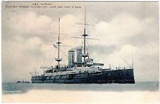 R. TUCK POSTCARD H.M.S. LONDON-FIRST CLASS BATTLESHIP-1905-EMPIRE SERIES 599