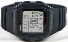 Casio W-96H-1BV Men's Watch Multifunction 10 Year Battery Snooze Alarm Sport New