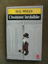 L'homme invisible HG Wells (French paperback) 1958
