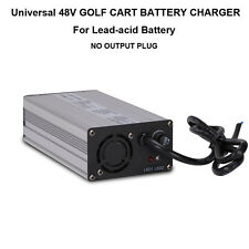 Universal 48V 4A GOLF CART BATTERY CHARGER NO PLUG FOR EZGO Club Car TXT Yamaha