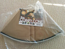 Medium 20cm in Australia TAN Comfy Cone Elizabethan healing DOG e-Collar