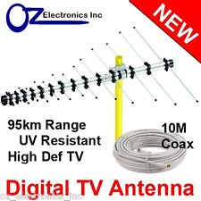 Greentek Outdoor TV Antenna UHF VHF FM 4 AUSTRALIAN conditions Country Areas