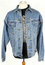 VINTAGE WRANGLER DENIM JACKET WORK BLUE MENS 70s 90s LARGE