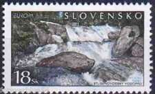 Slovakia 2001 SG 363  Mi 394 MNH Water Europa River Rocks combined postage