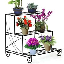 Plant stands ebay - Steel pot plant stands ...