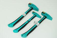 PROFI Schlosserhammer 500 / 1000 / 1500 g 3tlg. Hammerset Hammer neu