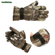 New Realtree Hunting Gloves Waterproof Windproof Breathable Insulated Glove