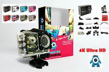MONSTER 4K 1080p Ultra HD Action Camera - Waterproof + Accessories