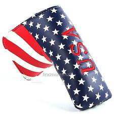 Stars & Stripes Golf Blade Putter Cover for Taylormade Scotty Cameron Callaway