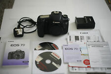 Canon EOS 7D 18.0MP Digital SLR Camera  low shutter count