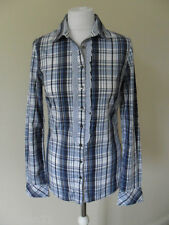 Tommy Hilfiger women's shirt, size 10, stretch, check, long sleeve