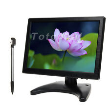 "10"" IPS Touchscreen HD HDMI Color PC Screen w/ Speaker for CCTV Monitor DE STOCK"