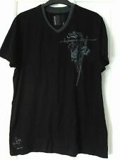 BLACK SIZE LARGE SHORT SLEEVED T SHIRT