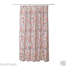 "Ikea Gorgeous ""Akerkulla"" Fabric Retro Pattern Shower Curtain NEW -180x180cm"