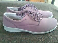 Hotter stream suede lace up walking shoes size 9 (43) std