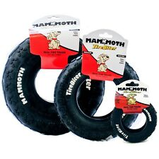 Mammoth Tirebiter Dog Rubber Play Chew Toy - Tough Tire for Dogs - 20cm