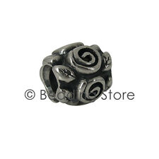 NEW Pandora 'Rose Leaf / Petal' Charm Bead Silver ALE Genuine Authentic 790136