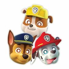 paw patrol 8 party masks