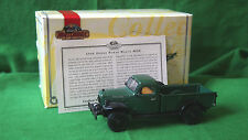 MATCHBOX 1946 DODGE POWER WAGON WDX PICKUP TRUCK, 1:43 DIE-CAST YTC02