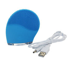 Waterproof  Electric Facial Cleanser Brush Massager Vibrate Cleaner Beauty Skin