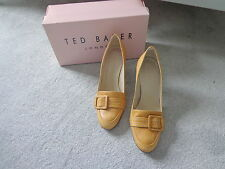Ted Baker Suki Tan Leather Shoes Size 6/39