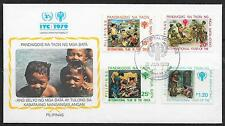 UNICEF-Jahr des Kindes/ Philippinen MiNr 1315/18 FDC