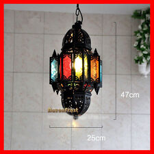 Moroccan Style Ceiling Light Fixture Pendant Hanging Lamp Canteen Hall CX009
