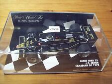 1/43 LOTUS FORD 79 JEAN-PIERRE JARIER CANADIAN GP 1978