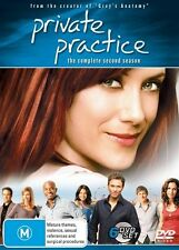 Private Practice : Season 2 (DVD, 2009, 6-Disc Set) REGION 4