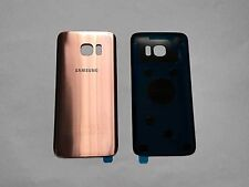 Replacement ROSE GOLD Battery Back Cover Glass For Samsung Galaxy S7 Edge G935F
