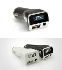 3.5MM Stereo Music FM transmitter for iPhone 6 6S Plus 5 5S USB Car charger