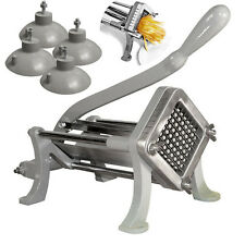 NEW Commercial Hand Operate French Fry Fries Making Machine Potato Chip Cutter