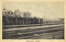 Valkenburg, Station-Bahnhof von der Gleisseite, Ansichtskarte um 1920