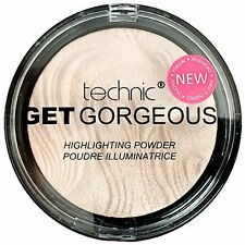 Technic Get Gorgeous Highlighting Powder Face Highlighter Contour Contouring 12g
