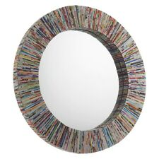 Brand New - Cohen Mirror Recycled Magazine Round Wall Mirror  *SALE*
