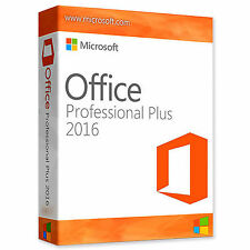 Microsoft Office 2016 Professional Plus - BRAND NEW -  24HR DELIVERY