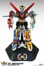 """Toynami 30th Anniversary VOLTRON Collector's 11"""" Figure Set Light-up eyes NEW!"""