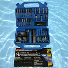 Fuller Tools 44 Pce Power Tool Bit Set Double Ended Nut Driver Bits