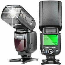 UK Neewer NW-561 Speedlite Flash with LCD Display for Canon &Nikon New