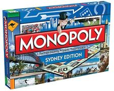 NEW MONOPOLY BOARD GAME SYDNEY EDITION 103087-4