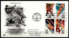 Olympische Sommerspiele 1984, Los Angeles. FDC-Brief.  USA 1984