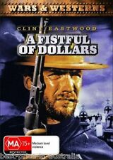 A Fistful Of Dollars 1964 DVD BRAND NEW TOP 250 MOVIE CLINT EASTWOOD WESTERN R4