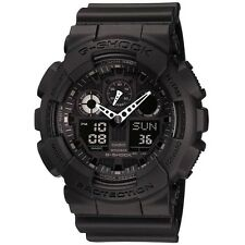 NEW RRP £110 Casio GA-100-1A1ER Mens G-Shock Digital Black Watch