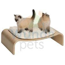 HAGEN VESPER V LOUNGE POPLAR WOOD MEMORY FOAM CAT KITTEN ELEVATED FURNITURE BED
