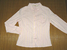 ESPRIT rosa Stretch Bluse Damen Business XL tailliert Langarm klassich TOP #35
