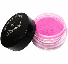Laval Starry Eyes Loose Eye Shadow Dust Powder Pigment HOT NEON PINK Matte