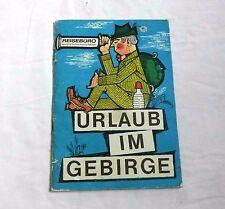 Urlaub im Gebirge - Reisebüro Deutsche Demokratische Republik (1969)
